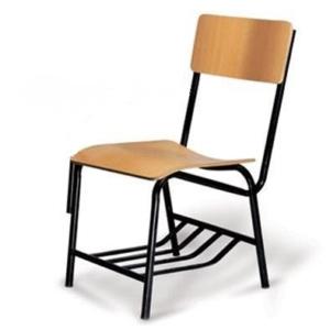صندلی بدون دسته کف و پشت قوسدار MDF