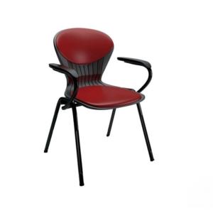 صندلی صدفی دسته دار