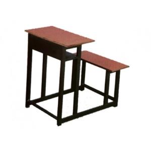 میز و نیمکت یک نفره